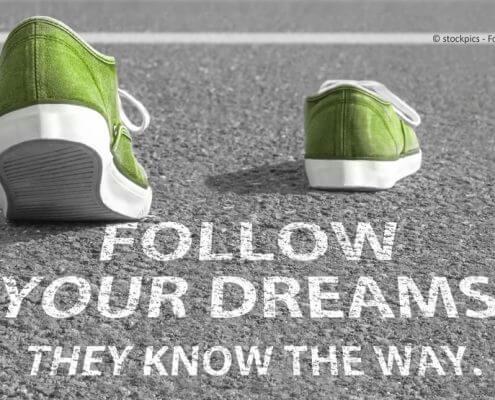 Folge dem Sinn des Lebens